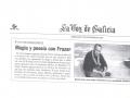 La Voz de Galicia - 7 de Noviembre de 2001 - Álvaro Ballestero